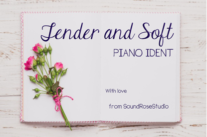 Tender & Soft Piano Ident - Delicate, poetic and dreamy classical royalty free music logo by SoundRoseStudio