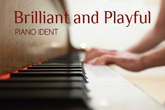 Brilliant And Playful Piano Ident - Royalty Free Music by SoundRoseStudio