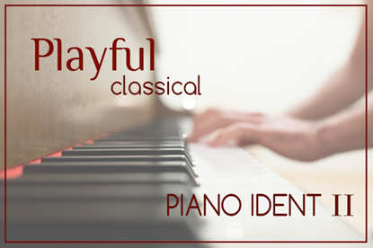 Playful Classical Piano Ident II - Royalty Free Music by SoundRoseStudio