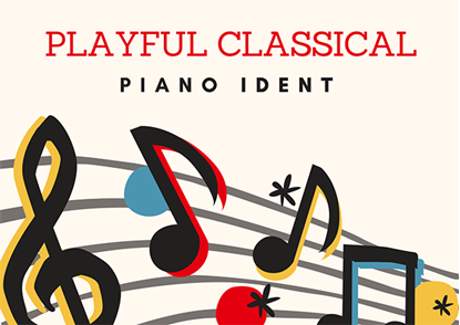 Playful Classical Piano Ident - Royalty Free Music by SoundRoseStudio