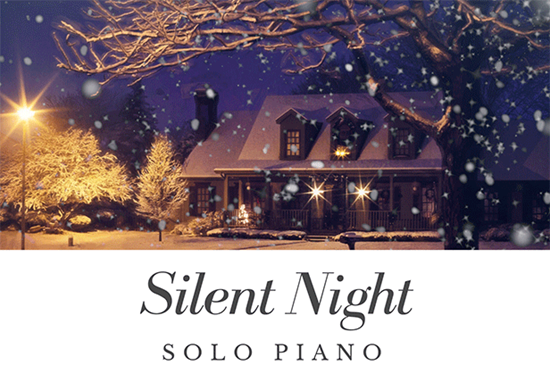 Silent Night Solo Piano - Royalty Free Music by SoundRoseStudio