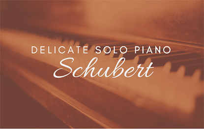 Delicate Solo Piano Schubert Op 9 Nr 11 - Royalty Free Music by SoundRoseStudio