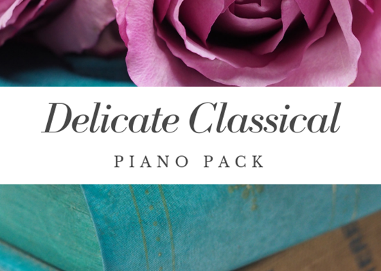 Delicate Classical Piano Pack - Royalty Free Music by SoundRoseStudio