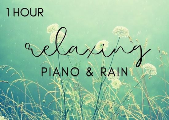 1 Hour Relaxing Piano With Rain - Music for Meditation - Royalty Free Music by SoundRoseStudio